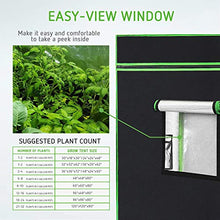 "Load image into Gallery viewer, VIVOSUN 48""x48""x80"" Mylar Hydroponic Grow Tent"