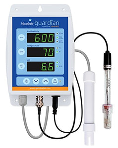 Bluelab MONGUACON Guardian Monitor Connect for pH, Temperature, and Conductivity Measures, Easy Calibration and Data Logging (Connect Stick not Included)