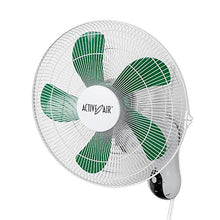 Load image into Gallery viewer, Hydrofarm Active Air ACF16 Wall Mount Fan, 16 Inch