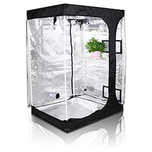 "Load image into Gallery viewer, TopoGrow 48""x36""x72"" 600D Indoor Grow Tent"