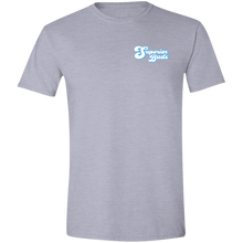 Load image into Gallery viewer, 4.5 oz Front/Back Logo Softstyle T-Shirt