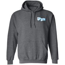 Load image into Gallery viewer, 8 oz Front/Back Logo Pullover Hoodie