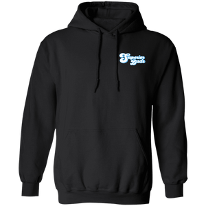 8 oz Front/Back Logo Pullover Hoodie