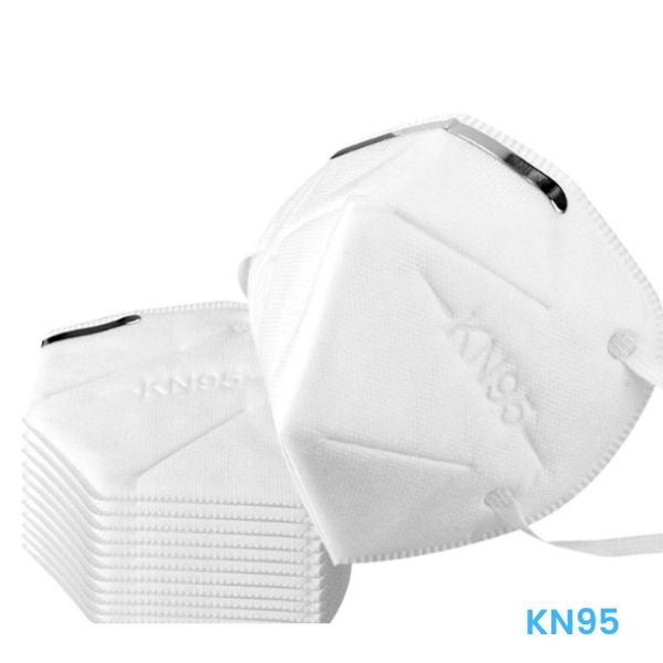 KN95 Face Mask Respirator - 5 Count