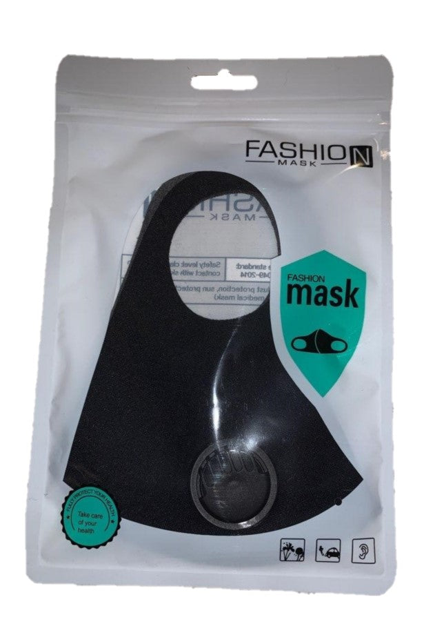 Reusable Cloth Mask with Filter - 1 Count