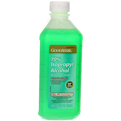 GoodSense Isopropyl Alcohol, Wintergreen & Glycerin, 16 fl oz