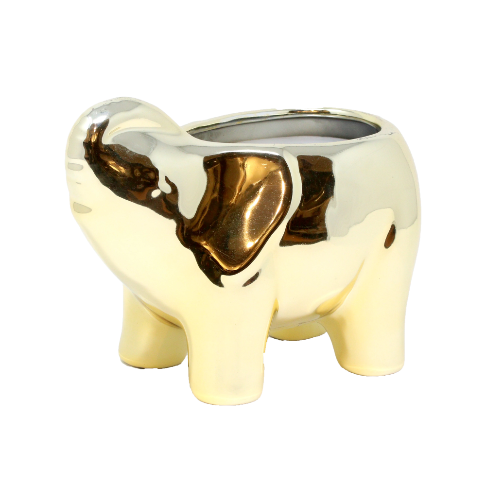 Gold Elephant Candle