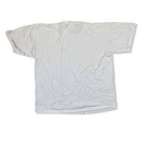 VINTAGE 90S NIKE ESSENTIALS EMBROIDERED MENS WHITE TSHIRT