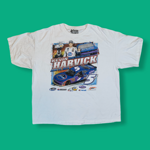 Y2K 2014 KEVIN HARVICK TAKES KENTUCKY MENS WHITE TSHIRT