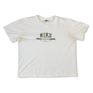 Vintage Nike Athletics Mens White Tshirt