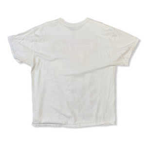 Y2K Trap Life Savage Mens White Tshirt