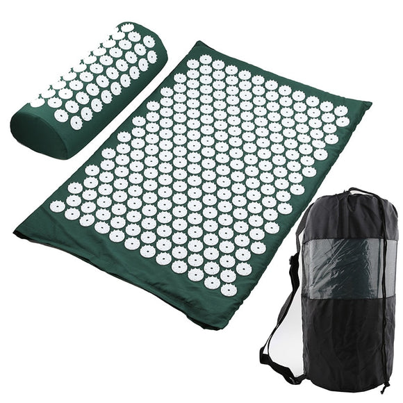 HolisticAF Acupressure Mat and Pillow for Ultimate Tension Relief