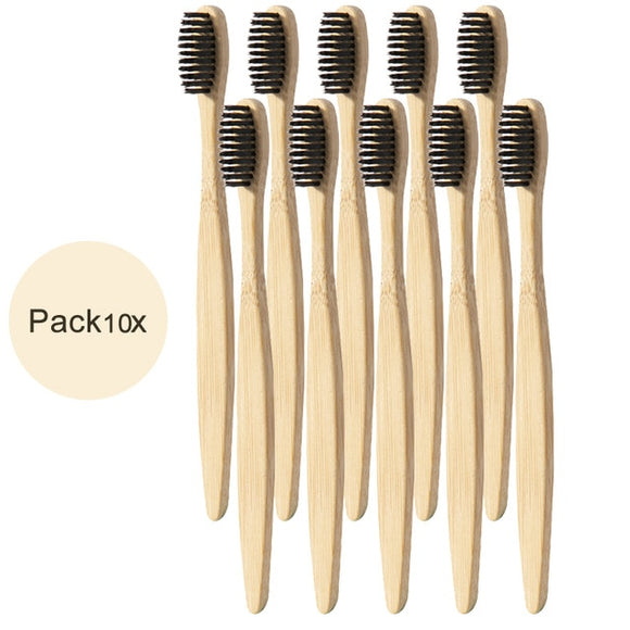 Bamboo Charcoal Toothbrushes