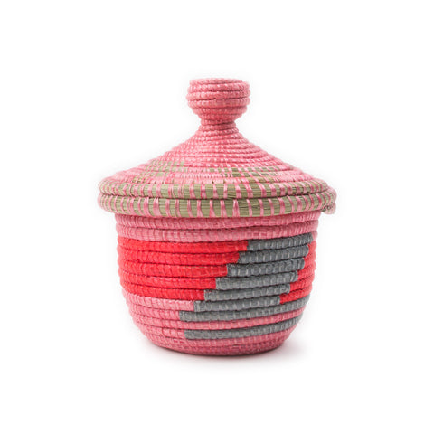 Mini Lidded Basket
