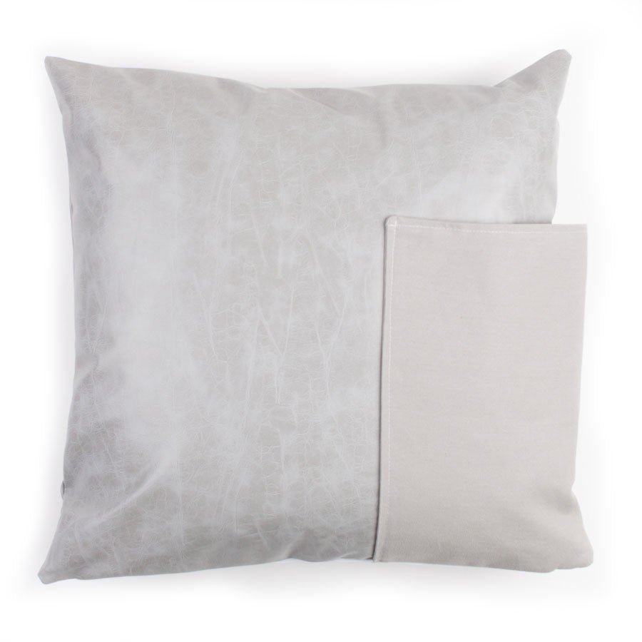 Porter Pocket Pillow: Grey
