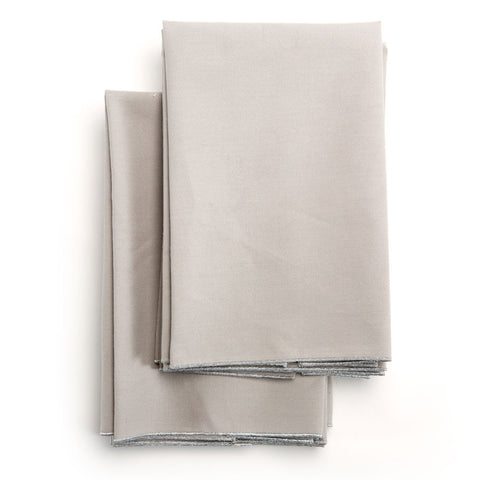 Spun in Silver Linens: Grey Tea Towels