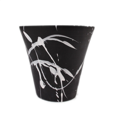 Torrent Large Planter, Black