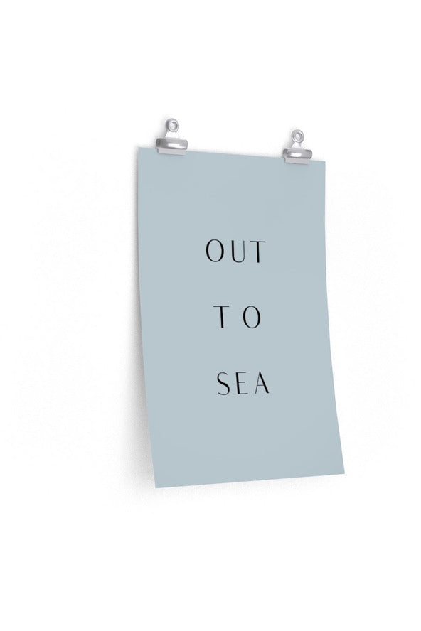 Out to Sea Art Print Poster* Poster - Hausofassembly