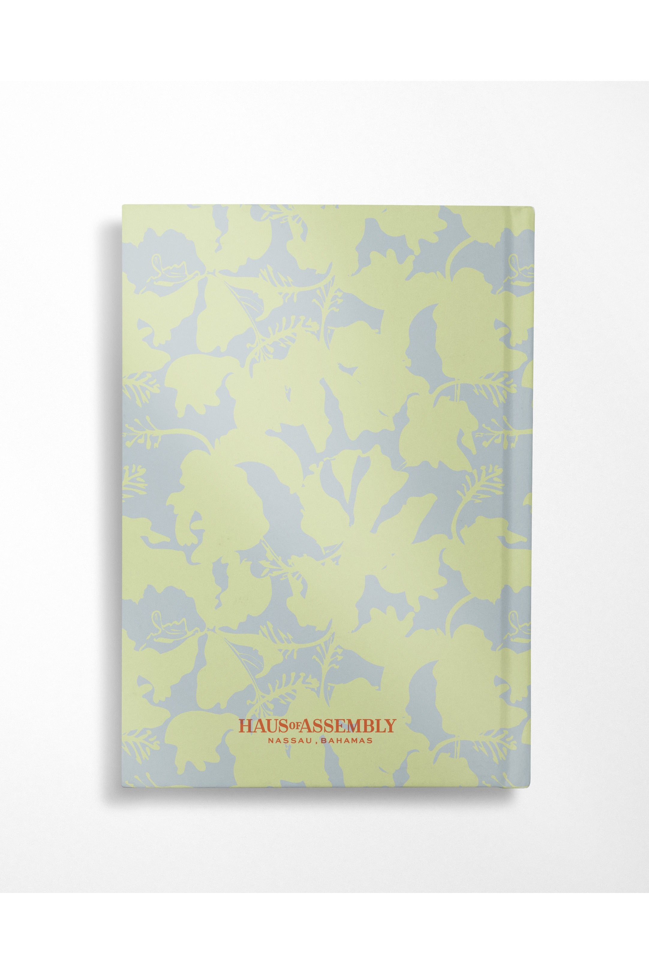 Hibiscus Notebook - Mint + Aqua - Hausofassembly