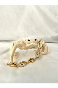 Gold- Plated Cowrie Shell Bracelets (Coated) - Hausofassembly