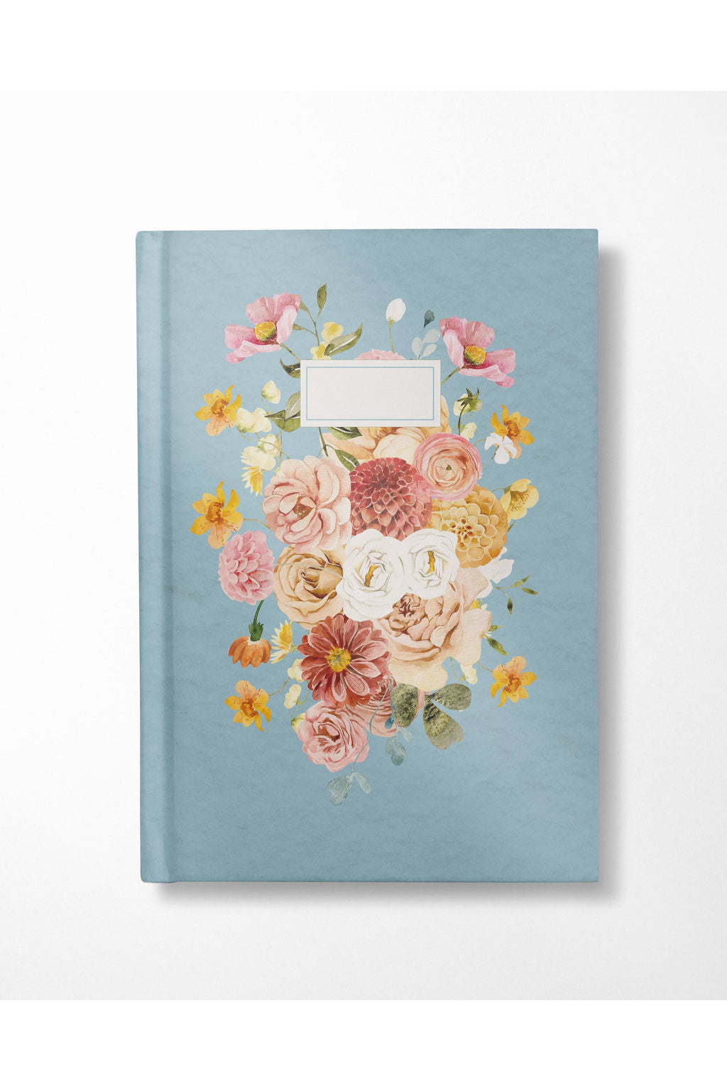 Watercolor Bouquet Journal - Hausofassembly