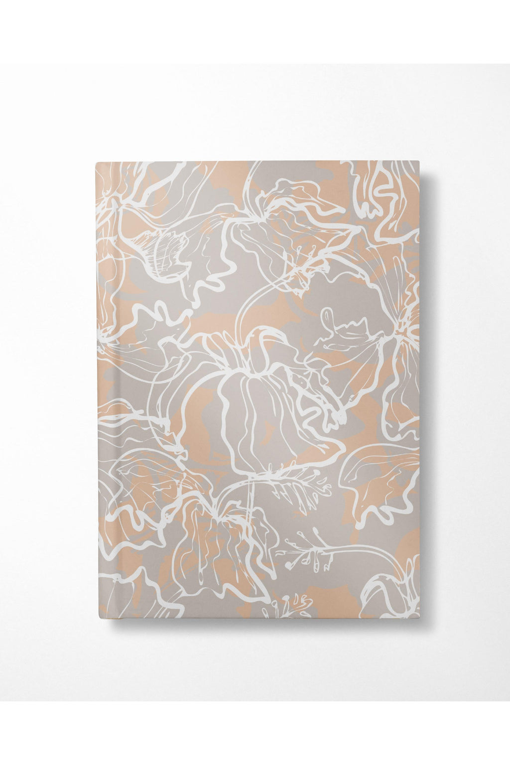 Hibiscus Notebook - Sand - Hausofassembly