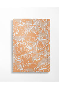 Hibiscus Journal - Sunset Orange - Hausofassembly