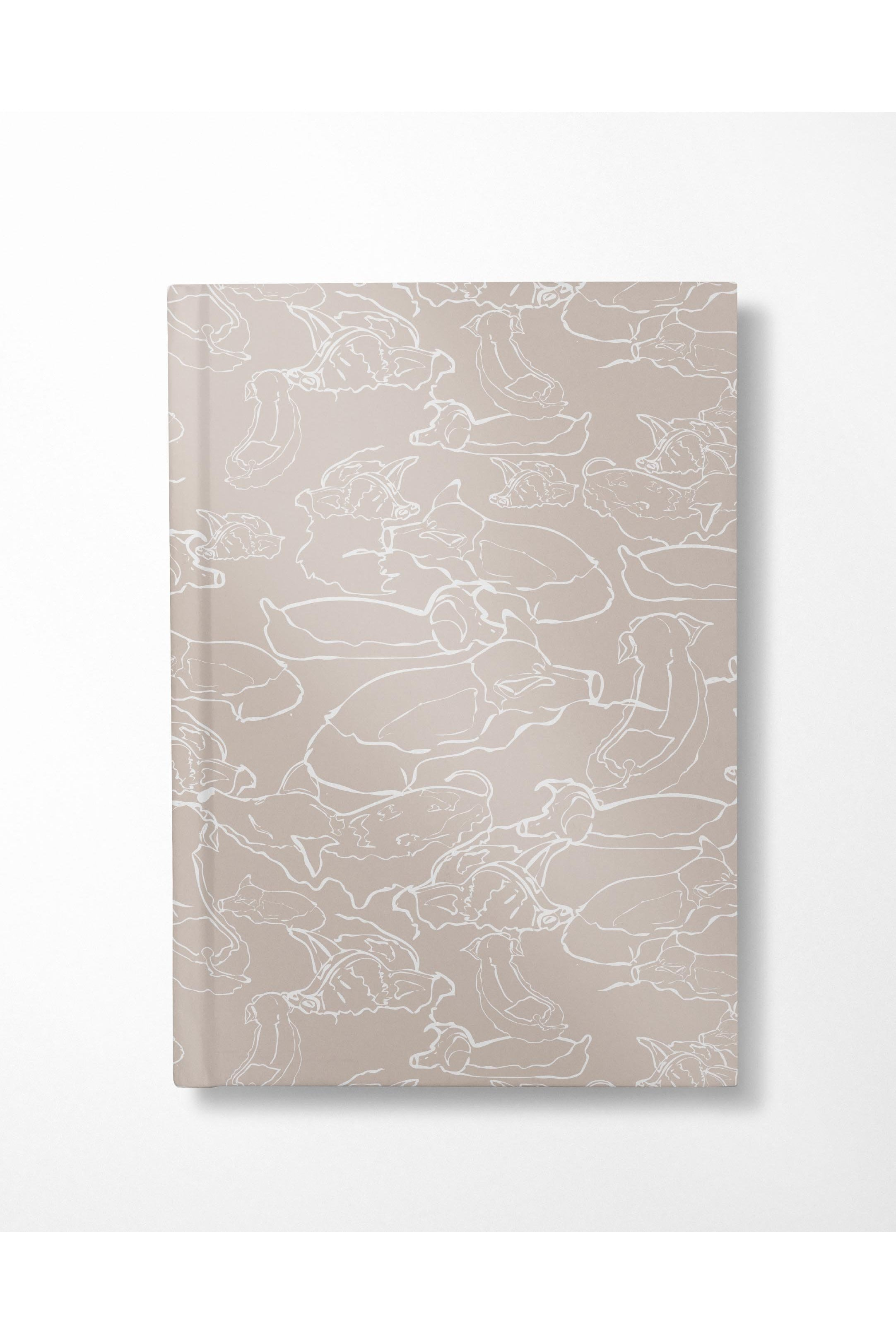 Swimming With The Pigs Notebook - Sand - Hausofassembly