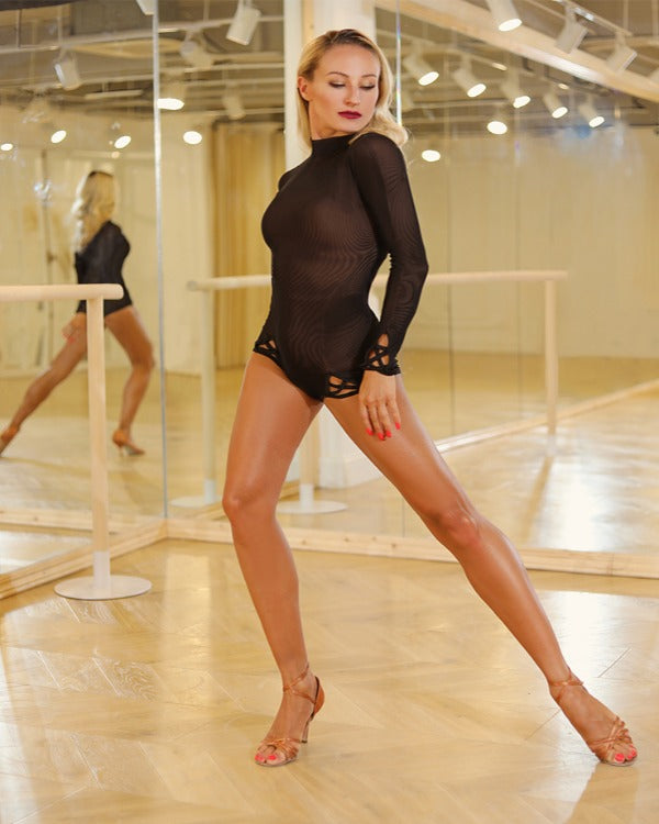MESH DANCE LEOTARD