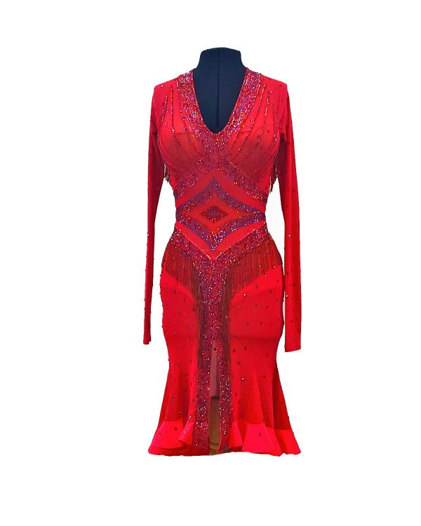 Warrior Style Latin Dance Dress