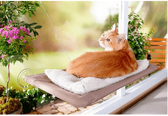 Comfy Window Mounted Cat Hammock - (FREE SHIPPING TODAY ONLY)