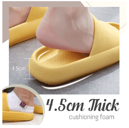 Foot Relax Non-Slip Cushion Slippers