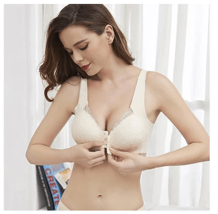 1# SUMMER COLLECTION SALE OFF 50% 4XL Front Closure 5D Contour BRAs