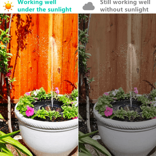 Last Day Promotion 50% OFF】Solar Powered Fountain