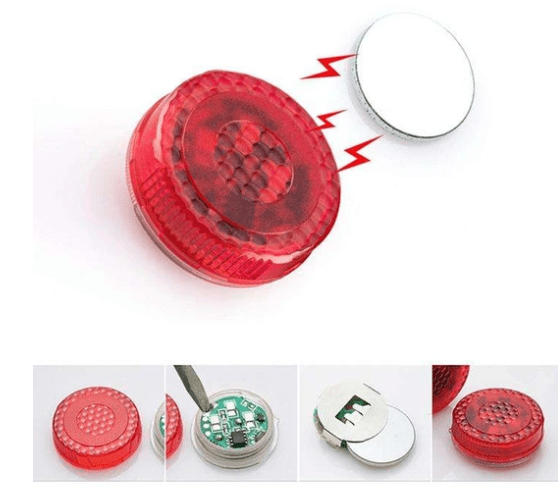 4PCS MAGNETIC CAR DOOR WARNING LIGHTS