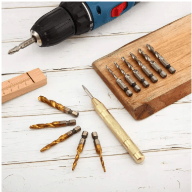 6 Piece Thread Tap Drill Bits Set (Buy 2 Free Shipping)
