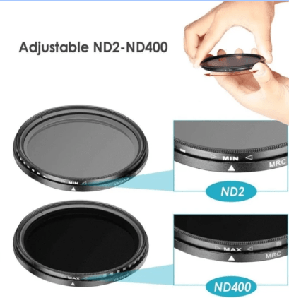 (Last Day Promotion)Professional Photography Adjustable ND Filter ND2-400