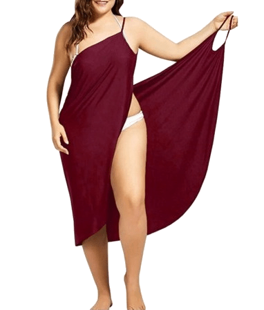 2 In 1 Towel Dress (Solid color and sizes) - 50% OFF TODAY ONLY