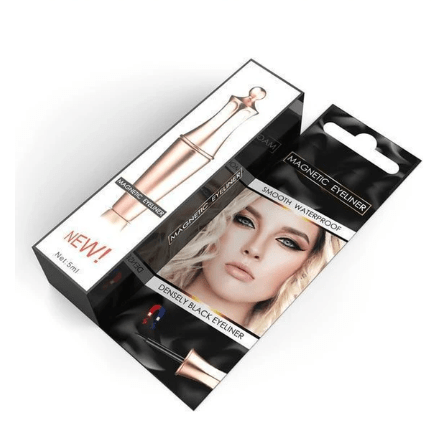 Next-Level Magnetic Eyelashes and Eyeliner - 3 Pairs Set