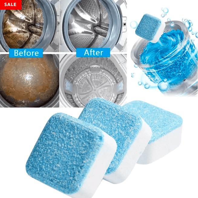 Washing Machine Deep Cleaning Tablets - 50% OFF TODAY ONLY