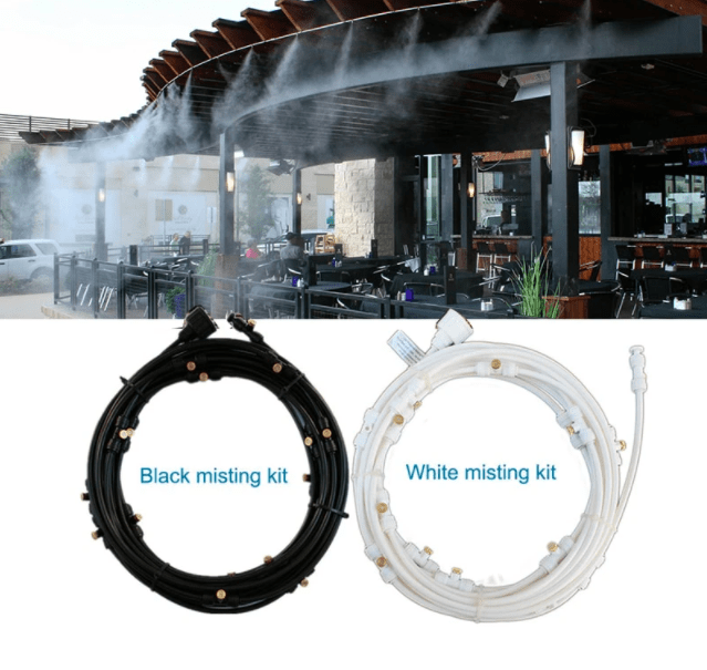 OUTDOOR MISTING COOLING SYSTEM - 50% OFF TODAY ONLY