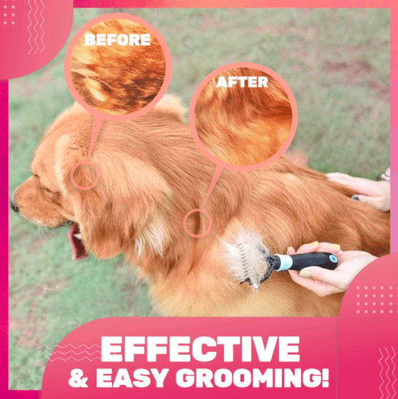 All-in-1 Pet Grooming Comb - 50% OFF TODAY ONLY