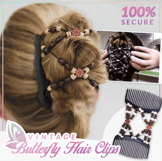 Vintage Butterfly Hair Clips - 50% OFF TODAY ONLY
