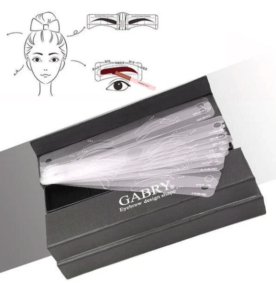 Eyebrow Template Straps (12pcs) - 50% OFF TODAY ONLY