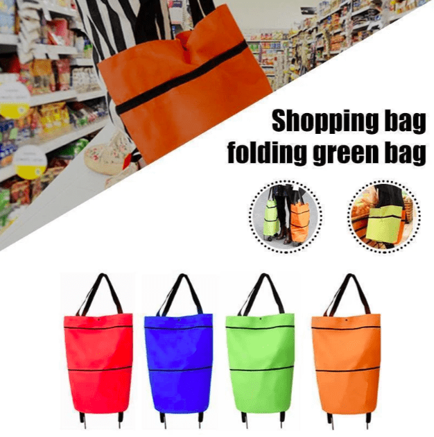 Foldable Eco-Friendly Shopping Bag - 50% OFF TODAY ONLY