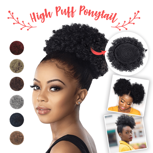 Women High Puff Ponytail (50% OFF TODAY ONLY)