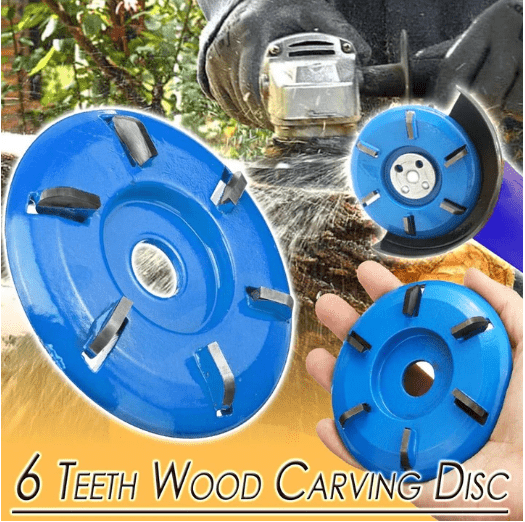 6 Teeth Wood Carving Disc - Buy 2 Get Free Shipping!
