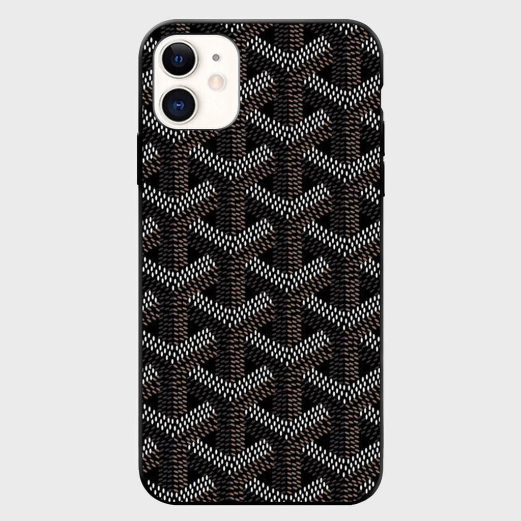 Black Wicker iPhone Case - Cloud Accessories, LLC