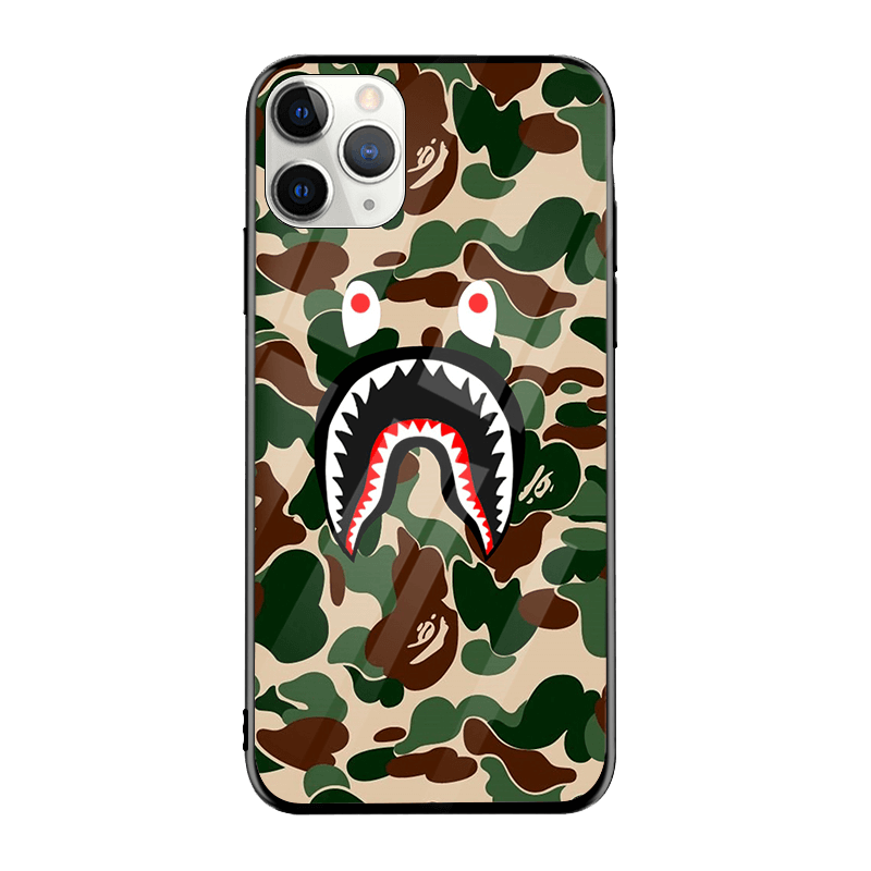Camo Shark iPhone Case