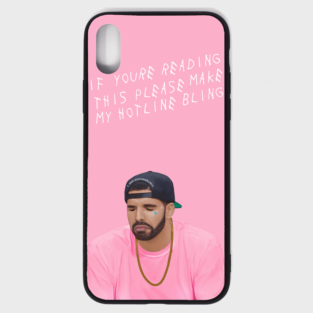 Drake Hotline iPhone Case - Cloud Accessories, LLC